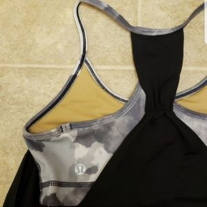 Lululemon | No Limits 2 in 1 Tank | Size 4